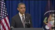 جعلی بودن ویدیو لگد زدن اوباما به در