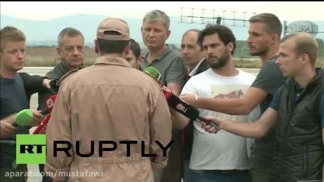 خلبان روس:ترکها هیچ اخطاری به ما نداده بودند(زبان روسی)