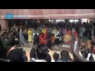 رقص در دانشگاه آزاد به بهانه نوروز !!!