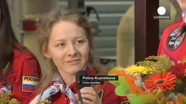 زنان روس و تجربه هشت روز زندگی در یک کپسول فضایی