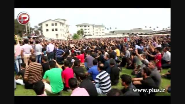 مراسم کامل خاکسپاری هادی نوروزی