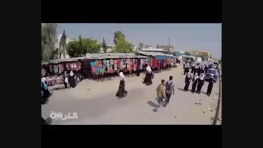 مسیر دختران غزه از مدرسه تا خانه