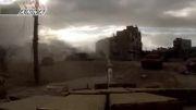 جنگ شهری و درگیری دو تانک سوری / نابودی تانک