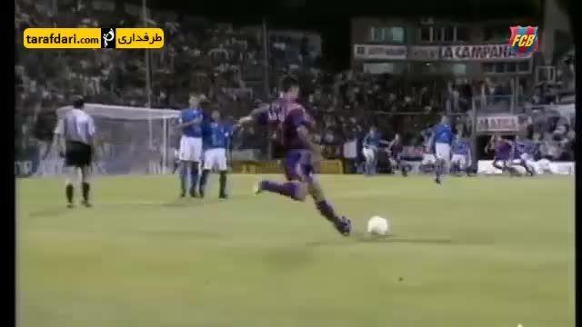 لوئیز انریکه و پپ گواردیولا، دو هم تیمی سابق