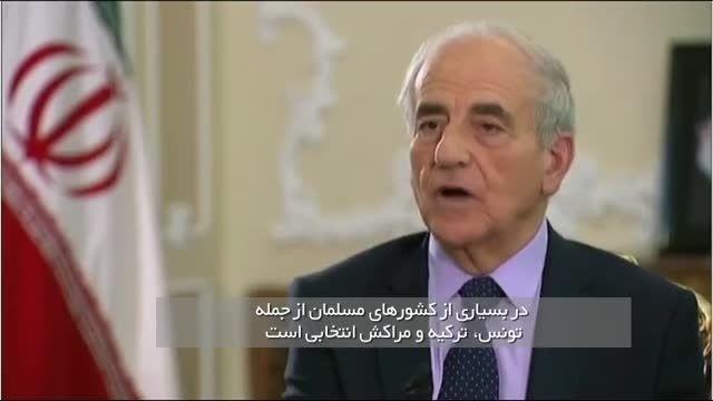 پاسخ دکتر روحانی به خبرنگار فرانسوی درباره حجاب زنان