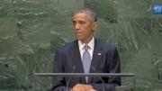 سخنان اوباما در سازمان ملل درباره ی ایران 1393