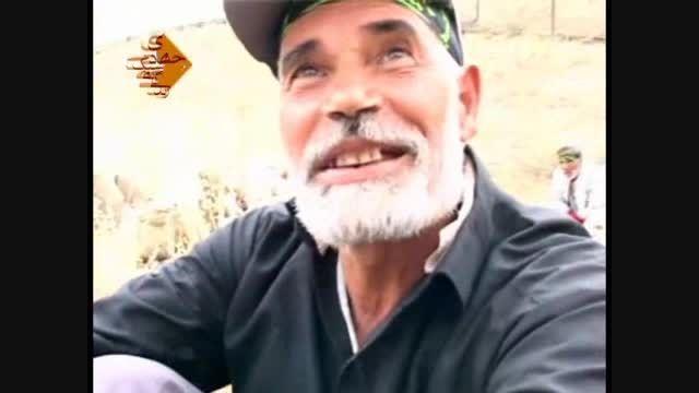 کاروان پیاده سالگرد ارتحال امام خمینی و ایستگاه صلواتی