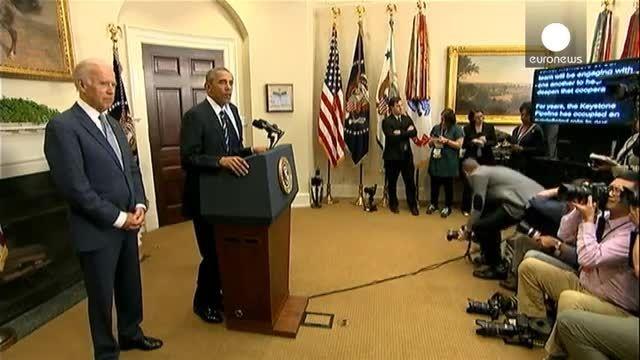 اوباما با طرح خط لوله نفتی عظیم مورد حمایت جمهوریخواهان