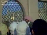 تبلیغ مبلغ وهابی در بقیع و ممانعت از زیارت مردم نسبت به قبور ائمه مدفون در بقیع