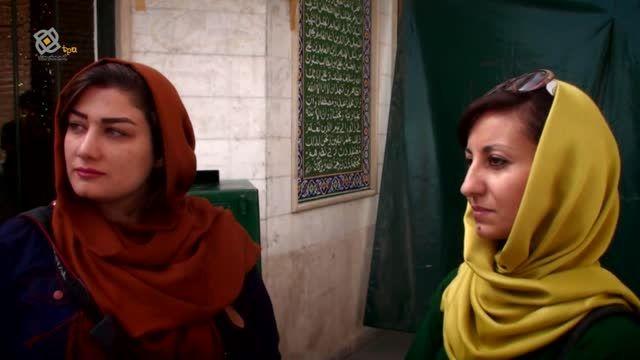 آنجلا کوریاس خبرنگار و عکاس ایتالیایی مهمان تهران