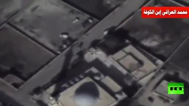 رصد تحرکات داعش توسط پهبادهای ارتش روسیه در سوریه
