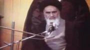 امام خمینی-اگر انقلابی عمل می کردیم......این مشکلات پیش نمی امد