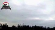 حمله جنگنده های ارتش سوریه به نیرو های ارتش ازاد و القاعده
