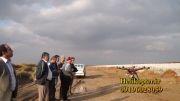 هلیشات جهت تیزر افتتاحیه ایستگاه راه آهن اینچه برون