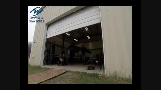 هواپیمای بدون سرنشین ۱۰ موتوره ناسا