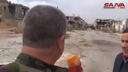 پیشروی های ارتش سوریه در حماه