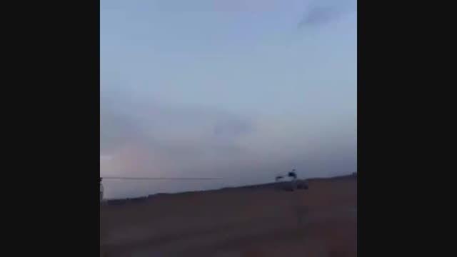 عبور موشک های کروز روسیه از آسمان خزر ایران و عراق