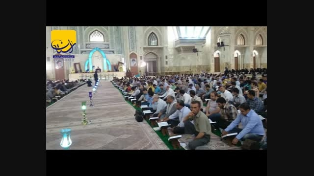محفل انس با قرآن در حرم مطهر امام خمینی (س)