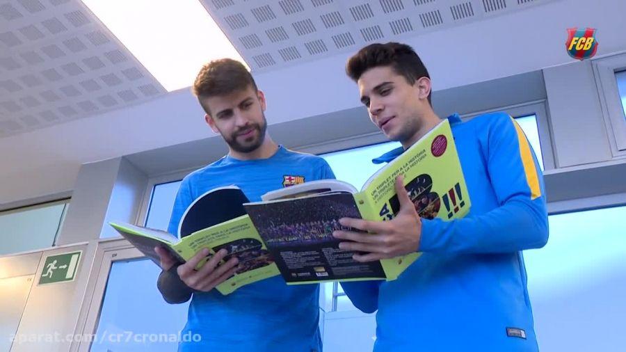 سه گانه - کتاب جدید بازیکنان بارسلونا