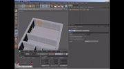 آموزش ساخت خانه از روی نقشه (عکس) با برنامۀ Cinema4D.