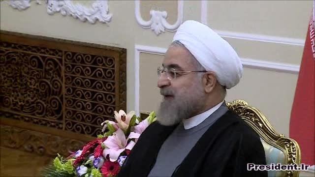 دیدار دکتر روحانی با وزیر خارجه مجارستان