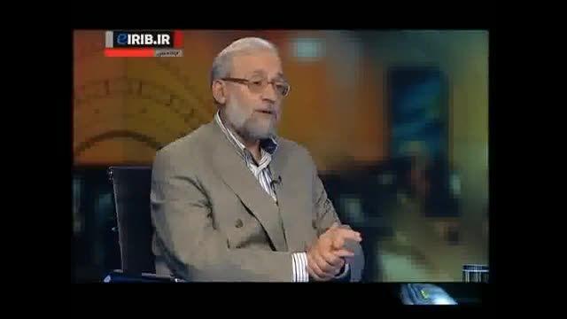 نظر محمدجواد لاریجانی درباره اسیدپاشی