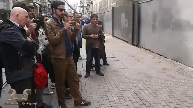 موسیقی خیابانی ایرانی در خیابان های ترکیه