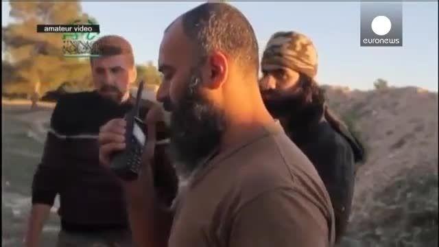 بمباران کاروان خودروهای حامل رهبران داعش در عراق