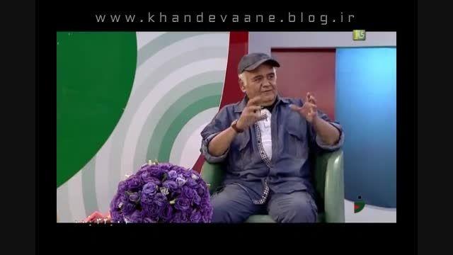 خندوانه، 12 خرداد 94، اکبر عبدی