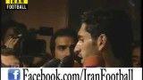 سوتی قطع شدن صحبت های بازیکن استقلال در برنامه ورزش و مردم