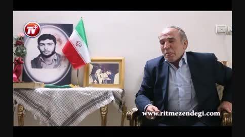 اشک های تلخ سرآشپز کاخ ریاست جمهوری ایران برای پسرش