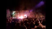 پولکه تویلاماخ (مشعل گردانی) در شهرستان عجبشیر روستای شیشوان
