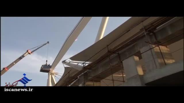 ساخت استادیوم مجهز در مشهد
