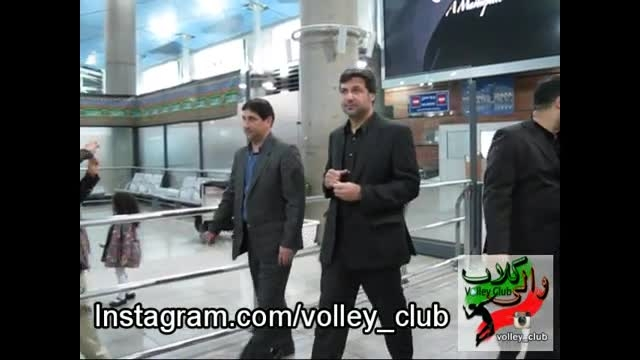 بازگشت تیم ملی والیبال جوانان ایران از بحرین