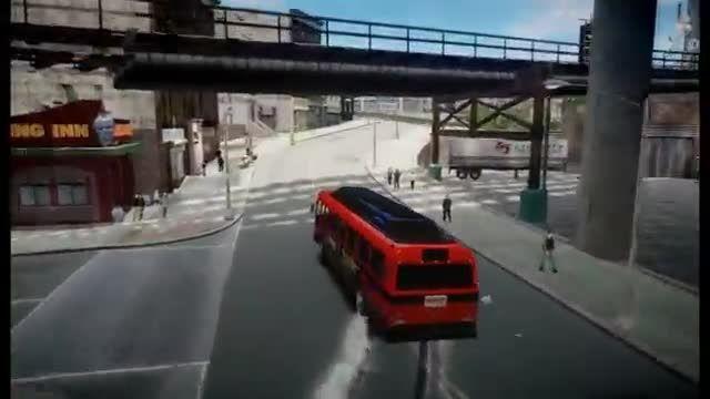 دریفت اتوبوسی