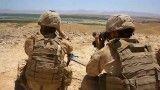 تجهیزات دیده بانی سربازان گرجستانی و تفنگداران آمریکایی در افغانستان