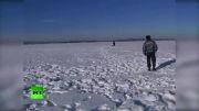 اولین تصاویر واقعی از محل برخورد شهاب سنگ !!