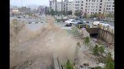 بارندگی شدید در تهران 29 مهر 93