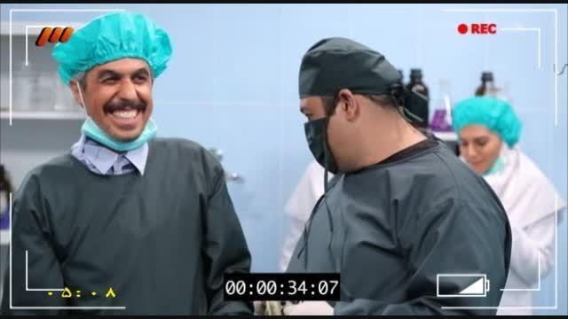 """پشت صحنه """"قسمت نوزدهم"""" سریال «در حاشیه»"""