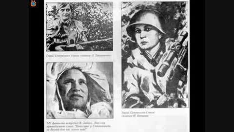 اسلاید تصاویر تک تیراندازان جنگ جهانی دوم