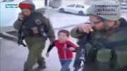 بازداشت بیرحمانه کودک 6 ساله فلسطینی