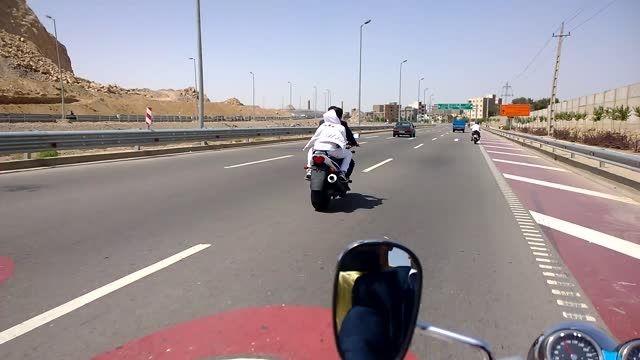 موتور سنگین در تهران