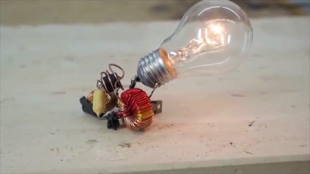روشی دیدنی در روشن مانده لامپ