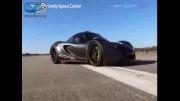 435 کیلومتر سرعت سرعترین خودروی جهان شگفت انگیزه