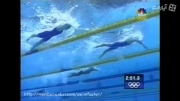 شنای کرال از  پایین استخر
