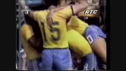 برزیل 2-3 ایتالیا (جام جهانی 1982)