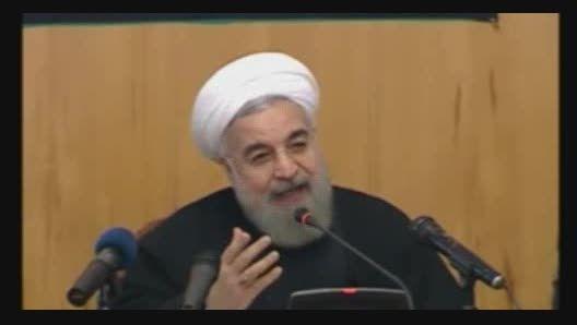 روضه خوانی دیروز رئیس جمهور روحانی در هیئت دولت