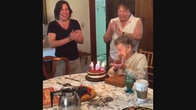 تولد 102 سالگی