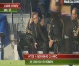 واکنش مورینیو به هو شدن توسط هواداران رئال مادرید در برنابئو