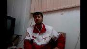 ساعت 2 شب پایگاه امداد و نجات هلال احمر فلاورجان